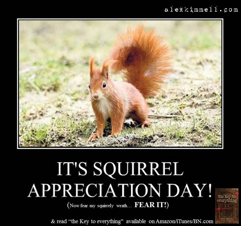 Squirrel Appreciation Day 2016