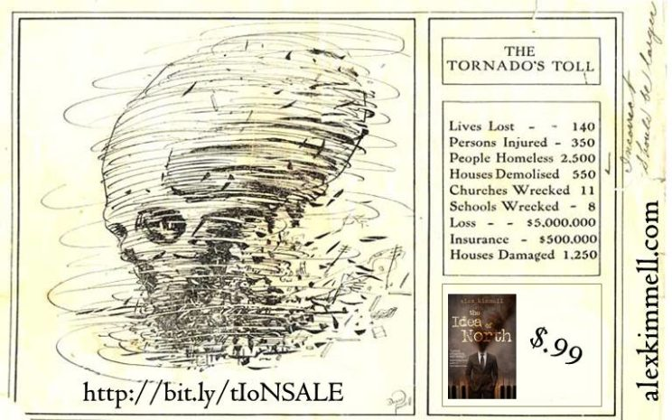 99cent sale The Tornados Toll 6-29-16
